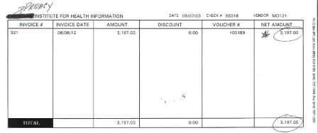 Simple Paycheck Stub